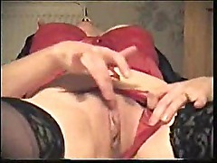 Amateur Brunette Mature Milf Masturbating Her Wet Vagina On Bed