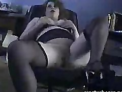 British Housewife Amelia fingering and toying