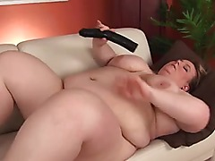 Golden-Haired Dilettante-big beautiful woman-Granny Dildoing