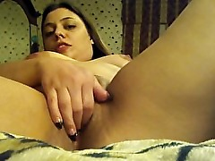 Latina squirting from her tight pussy
