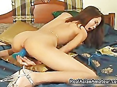 Asian amateur cutie dildo fucking her part4
