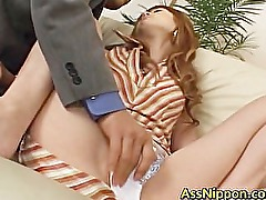 Hitomi Ohishi and Warin exciting 3some part6