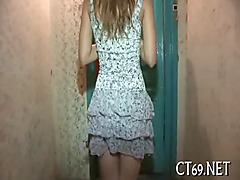Teen honey pleases her stud