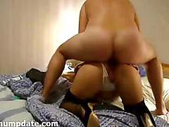 MILF with hot ass gets analized and facialized