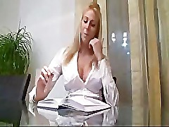 Tall Blonde German Girl Getting Fucked