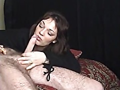 Lawty Smoking and sucking cumshot