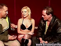 Real euro prostitute suck and fuck amateur