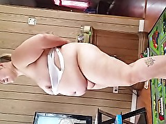 wife strip and dances
