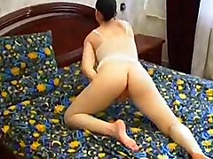 hot brunette tricked into homemade porn