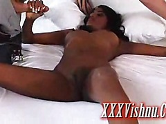 very sexy indian babe tied and fucked hard