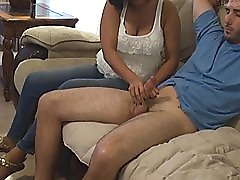 Big Titty Milf First Time Handjob