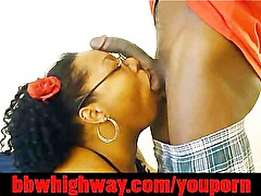 ORAL FROM AMATEUR EBONY BIG BUTT BBW teen