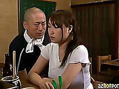 AzHotPorn.com - Japanese Pub Female Owners Secret