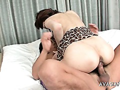 Asian amateur painful anal and dirty ass to mouth