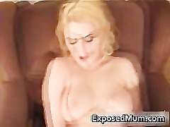 Momma has amazing orgasm with enormous part1