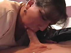 Wife Blowing a Friend to the End!!