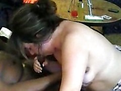 Horny BBW Trys Real Dark Meat For The First Time