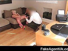 FakeAgentUK - Amateur blonde drilled hard