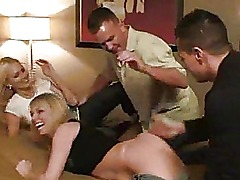 FULL SWAP FOURSOME REAL AMATEUR GROUP SWINGERS