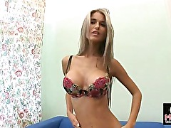 HD Video Horny Amateur Strip Girl with nice big boobs.