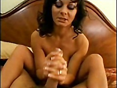 Busty MILF worships the dick