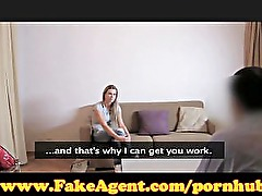 FakeAgent Fit blonde in casting