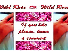 Wild Rose anal fucked