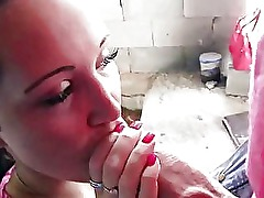 Real amateur paid for having a hard sex