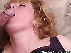 Busty Mindy Jo getting banged on threesome