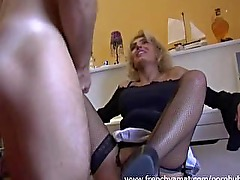 French milf want cock so bad