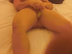 BABY DOLL chubby and big clit and boobs masturbate