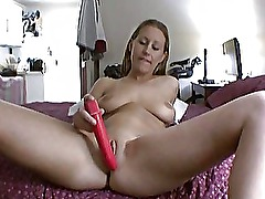 Busty Vikki amateur try out