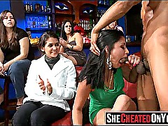 12 Awesome orgy at club with hot bitches! 55