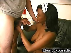Busty Ebony have some Handjob of their part1