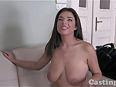 Casting HD Busty amateur cheats on BF