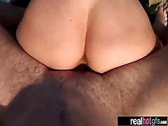 Real Girlfriend Fucked Hardcore Style On Camera clip-22