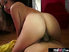 Real Girlfriend Fucked Hardcore Style On Camera clip-20