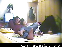 Chinese couple spy webcam asian amateur