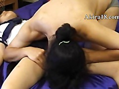 Amateur couple having sex fun in chinese