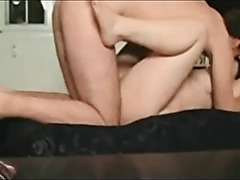 Hot milf creampied on real homemade