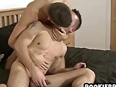 Hot and horny british amateurs going at it in the bedroom