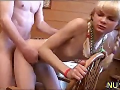 Pretty girlie gets fucked