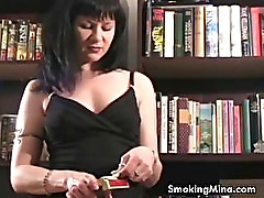 Hot MILF Smoker talks to you while smoking