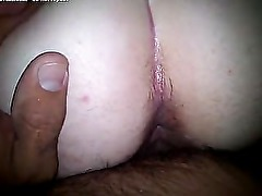 BBC vs Fat Ass Big Butt BBW PAWG - Doggy Banging her Both Holes