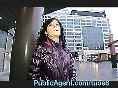 PublicAgent Lenka Take Cash for a Ride in her Pussy