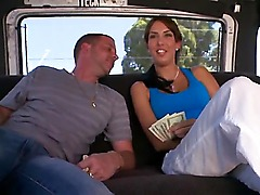 This time horny fellow from bangbus is going to try to seduce one more stunning leggy Latina hottie to screw with him here! It wasnt difficult for him to seduce the gal at all!