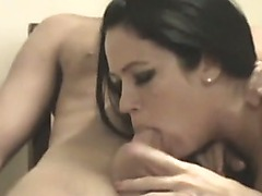 Cute Black Brown Legal Age Teenager Gives POV Head