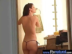 Amaterur Cute Horny Teen Girl Masturbating With Sex Toys video-09