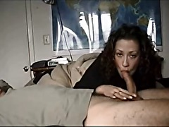 Amateur curly wife gets fucked
