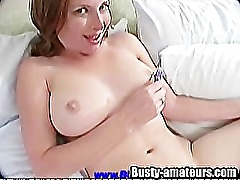 Busty Chick Ginger On Hot Solo
